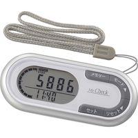 オーム電機 3Dセンサー歩数計 シルバー HB-K700-S(直送品)