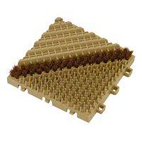 ミヅシマ工業 養生シート ブラシマットA 本体 ベージュ 402-1720 1セット(10枚:1枚X10)(直送品)
