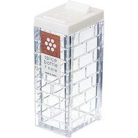 イノマタ化学 スパイスボトル(パウダースパイス用) ホワイト 1147 20個(直送品)