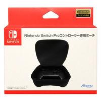 マックスゲームズ Nintendo Switch Proコントローラー専用ポーチ ブラック HACP-04BK 1個の画像