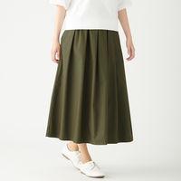 無印 イージーギャザースカート 婦人XL