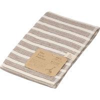 The Livin' Fabrics 業務用ガーゼフェイスタオル ブラウン LF5115 1セット(4枚) (直送品)