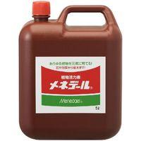 【園芸用品・植物活力素】メネデール 5L 4978938150004 1セット(3本入)(直送品)