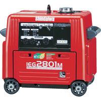 やまびこ 新ダイワ 防音型インバーター発電機 2.8kVA IEG2801M 1台 419-8417(直送品)