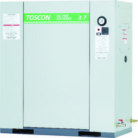 東芝産業機器システム 東芝 静音シリーズ オイルフリー コンプレッサ(低圧) FLP85-37T 1台 773-8412(直送品)
