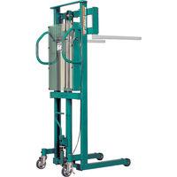 スギヤス ビシャモン トラバーリフト(手動油圧式)早送り装置付 均等荷重500kg ST50H 1台 460-5551(直送品)