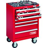TONE(トネ) TONE ツールキャビネットセット(レッド) TCS910 1セット 465-3611(直送品)
