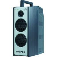ユニペックス 防滴形ワイヤレスアンプ 300MHz帯 シングル CD/SD付き WA-371SU 1台 818-4159(直送品)