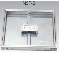 アウス 床点検口・オールステンレス(モルタル用) NSF-2 350(直送品)