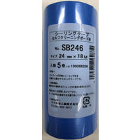 マスキング粗面 24mm SB246-24-5 1パック(5P) カモ井加工紙(直送品)