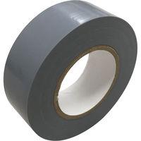 キラックス ビニールテープ 19mmX10m 灰 200巻入 KCBT-1910-GRY200P 1セット(10巻パック×20)(直送品)