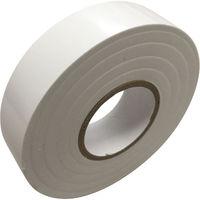 キラックス ビニールテープ 19mmX20m 白 200巻入 KCBT-1920-WH200P 1セット(10巻パック×20)(直送品)