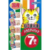 ねこまんま 猫用 パウチ バラエティパック7袋入 1個 はごろもフーズ