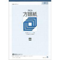 日本ノート 方眼紙 A4 1ミリ方眼10冊 ホウ12(10)(直送品)