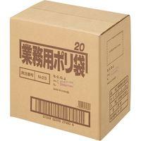 日本サニパック ポリゴミ袋 透明 20L 10枚 60組 N-23-60(直送品)