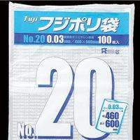 尚美堂 フジポリ袋03No.20 紐付 637600 1箱(500枚×2箱)(直送品)