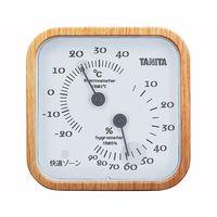 タニタ(TANITA) 温湿度計(アナログ) ナチュラル TT-570 1個 62-9774-32(直送品)