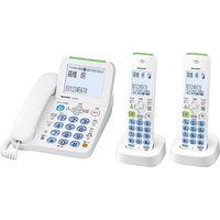 シャープ デジタルコードレス電話機 子機2台タイプ ホワイト JD-AT82CW(直送品)