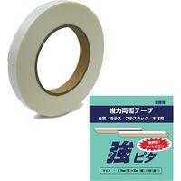 水上 超強力両面テープ 強ピタ 0.75×25×10m 9902-45401 1セット(3巻入)(直送品)