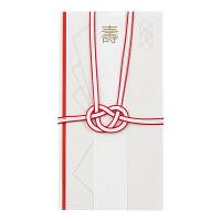 デザインフィル 金封158 結婚祝 折形(オリガタ)柄 25158006 2枚 (直送品)