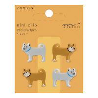 デザインフィル ミニクリップ イヌ柄 4個入×3パック 43305006(直送品)