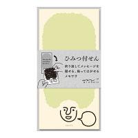 デザインフィル 付せん紙ひみつ もじゃお柄 11768006 3個 (直送品)