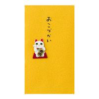 デザインフィル PC ぽち袋 179 おこづかい 招き猫柄 25179006 1セット(9枚:3枚入り×3パック) (直送品)