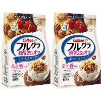 カルビー フルグラ糖質25%オフ 600g 1セット(2袋)