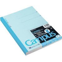 コクヨ キャンパスノート セミB5 5冊パック 30枚 5mm 42行 ノ-3CNX5 1セット(15冊:5冊入×3パック)(直送品)
