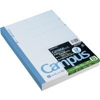 コクヨ キャンパスノート セミB5 50枚4冊組 35行 罫幅6mm ノ-5BNX4 1セット(20冊:4冊入×5パック)(直送品)