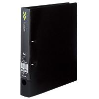 コクヨ Dリングファイル<K2>28mm・黒 K2フーCD430D 1セット(15冊)(直送品)