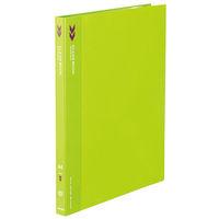 コクヨ クリヤーブック 固定式 A4-S 20ポケット 緑 K2ラ-K20YG 1セット(10冊)(直送品)