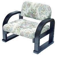 ヤマソロ TV座椅子 バラ柄 1台 (直送品)