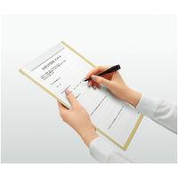 コクヨ(KOKUYO) クリップペンシル(再生樹脂)50本入 軸色:黒 紙箱入 PJ-E100D 1セット(200本:50本入×4箱) (直送品)