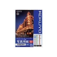 コクヨ(KOKUYO) インクジェットプリンタ用紙 写真用紙(高光沢・厚手) A4 20枚 KJ-D11A4-20 (直送品)