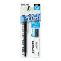 コクヨ(KOKUYO) マークシート最適セット1.3mm シャープペンシル・替芯・消しゴム PS-SMP101D 1セット(6セット入) (直送品)