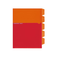 コクヨ(KOKUYO) 5インデックスホルダーA5<カラータグ> オレンジ CTフ-C752YR 1セット(15冊入)(直送品)