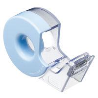 コクヨ(KOKUYO) テープカッター <カルカット> ハンディタイプ マスキングテープ用 ライトブルー T-SM300-1LB 1セット(4個入)(直送品)