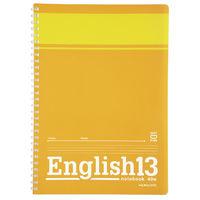 コクヨ(KOKUYO) ソフトリングノート(英習帳) 13段 B5 40枚 ス-S801 1セット(8冊入)(直送品)