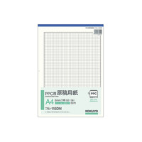 コクヨ(KOKUYO) PPC用原稿用紙 A4縦 5mm方眼 枠付 50枚 コヒ-115DN 1セット(350枚:50枚入×7冊)(直送品)
