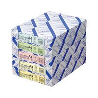コクヨ(KOKUYO) PPCカラー用紙(共用紙)(FSC認証) A4 500枚 64g平米 緑 KB-C39G 1包(500枚入) (直送品)