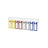コクヨ(KOKUYO) キーハンガー<KEYSYS>壁面取付用 キーホルダー型名札4色(各2本)付属 KH-KSM8 1セット(8個入)×4(直送品)