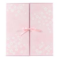 カラー色紙 両開き リボン 桜柄 33146006 デザインフィル (直送品)