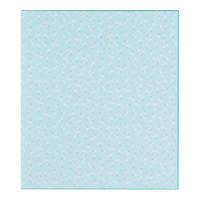 カラー色紙 二つ折り 花柄 ブルー 33147006 1セット(2枚) デザインフィル (直送品)