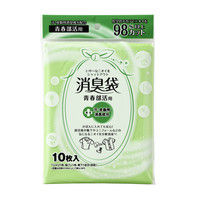 マルアイ 消臭袋 青春部活用 シヨポリ-10 1セット(5袋) (直送品)