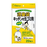 マルアイ 消臭袋 キッチンの生ゴミ用 シヨポリ-2 1セット(5袋) (直送品)