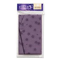 マルアイ 金封ふくさ 桜柄 紫 フク-41PU (直送品)