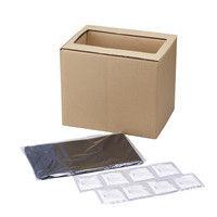 組立式緊急トイレ凝固剤8回分付き ABO-308 旭電機化成(直送品)