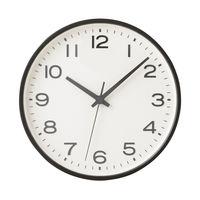 無印良品 アナログ時計・大 掛時計・ブラック 15915170 良品計画