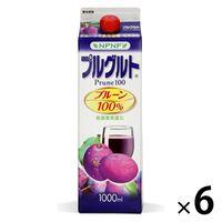 【アウトレット】雄山 プルグルト プルーン100% 1箱(6本入)